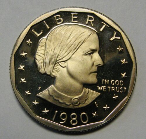 1980-S Susan B Anthony Dollar Gem Proof Priced to Move and Shipped FREE