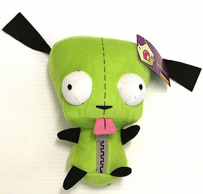 "Nickelodeon Alien Invader Zim - Plush 8"" GIR Doll - Official Christmas"