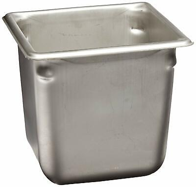 Vollrath 30662 6 Deep Super Pan Stainless Sixth-size Steam Table Free Ship