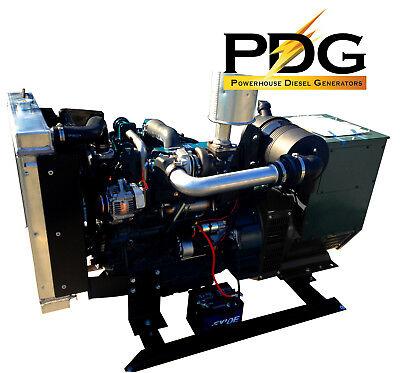 45kw Diesel Generator Kubota 1 Phase Emergency Standby Genset
