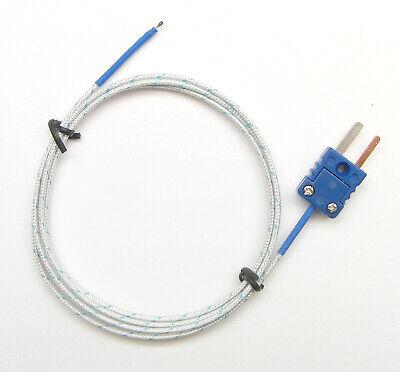 T-type Thermocouple Wire Sensor For Digital Thermometer Probe Fiberglass Pt-400