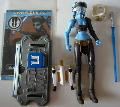 Star Wars CW14 Aayla Secura Jedi Knight The Clone Wars TCW Hasbro
