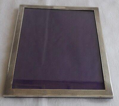 Sterling Silver Cased Photograph Frame   1931   W J Myatt
