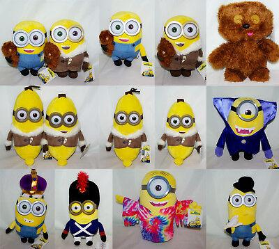 Minion Kevin Spielzeug (Minion König Kevin Banana 28cm Ich einfach unverbesserlich Film Plüsch Stofftier)