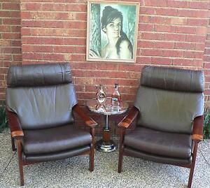 2 x Retro Vintage Lounge Chairs by Tessa T21 circa 1970's Wantirna South Knox Area Preview