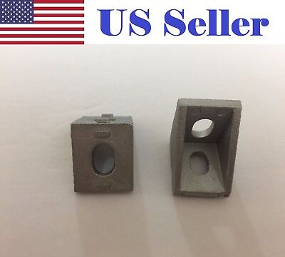 (2020 Corner Bracket 20x20mm Aluminum Angle L Connector T Slot Extrusion CNC )