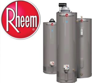 Water Heaters with Installation Technician