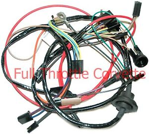 1975-corvette-air-conditioning-ac-wiring-harness-new 1981 corvette wiring harness #7