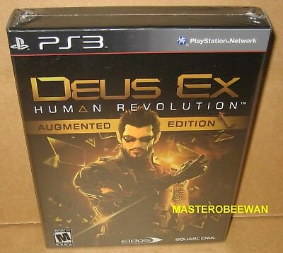 Deus Ex: Human Revolution Augmented Edition (PlayStation 3, 2011) PS3 New Sealed for sale  Shipping to Nigeria