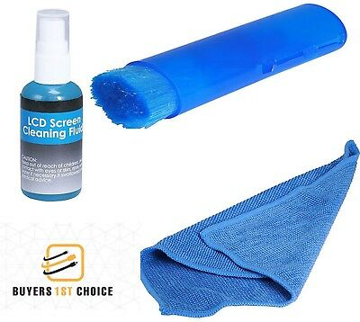 Screen Cleaning Kit 60 ml Cleaner LCD Plasma PC Laptop Tablet Monitor Display