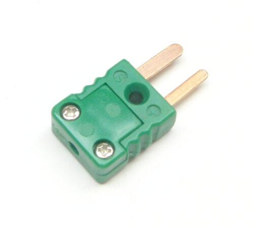 Miniature Mini R/S-Type Connector Plug Male for thermocouple wire sensor probe