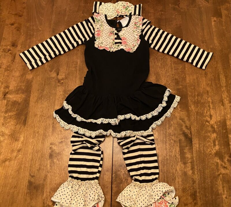 Serendipity Clothing Co Boutique Ruffle Outfit Set 4