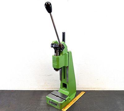"Schmidt Manual Press No. 11 Toggle Bench Press 2600 Lb 1-3/4"" Stroke Used"