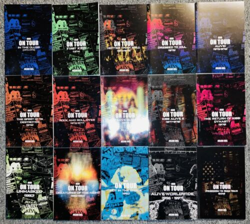 """KISS On Tour"" Complete 15 Mini-Volume Set"