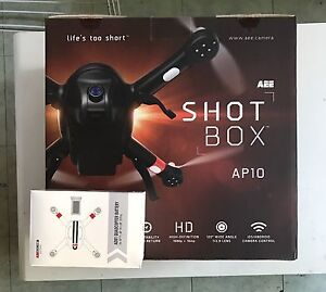 """BRAND NEW"" AEE SHOTBOX AP10 DRONE Lathlain Victoria Park Area Preview"