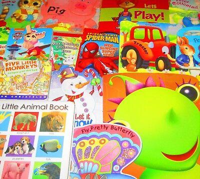 Children's Board Book Lot KIDS/DAYCARE/TODDLER/PRE-SCHOOL/READ -Sesame, Disney,