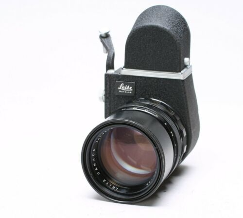 LEICA LEITZ VISOFLEX III REFLEX for M + ELMARIT 135MM F/2.8 LENS, 16462 MOUNT
