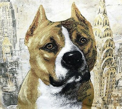 Staffordshire Bull Terrier  Pillow Case - Cover Tapestry Russia high quality Bull Terrier Tapestry