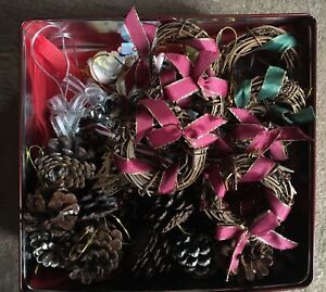 CHRISTMAS ORNAMENTS (LOT or INDIVIDUALLY SOLD)