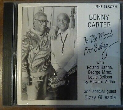 Benny Carter: In The Mood For Swing  W/ Dizzy Gillespie and others CD