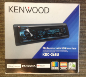 SOLD  --  Kenwood CD Receiver with USB interface