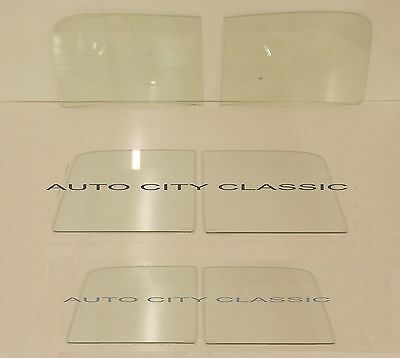40-42 Ford Pickup and Panel Delivery Clear 2 Piece Windshield Door Back Glasses