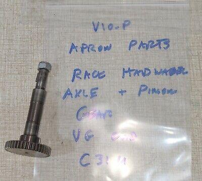 Emco Maximat V10-p Lathe Apron Parts Rack Axle Pinion Gear C31u