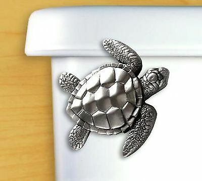 DECORATIVE Beach Bathroom Tank Lever Toilet Flush Handle Replacement Sea Turtle