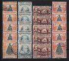 Architecture Used Colombian Stamps