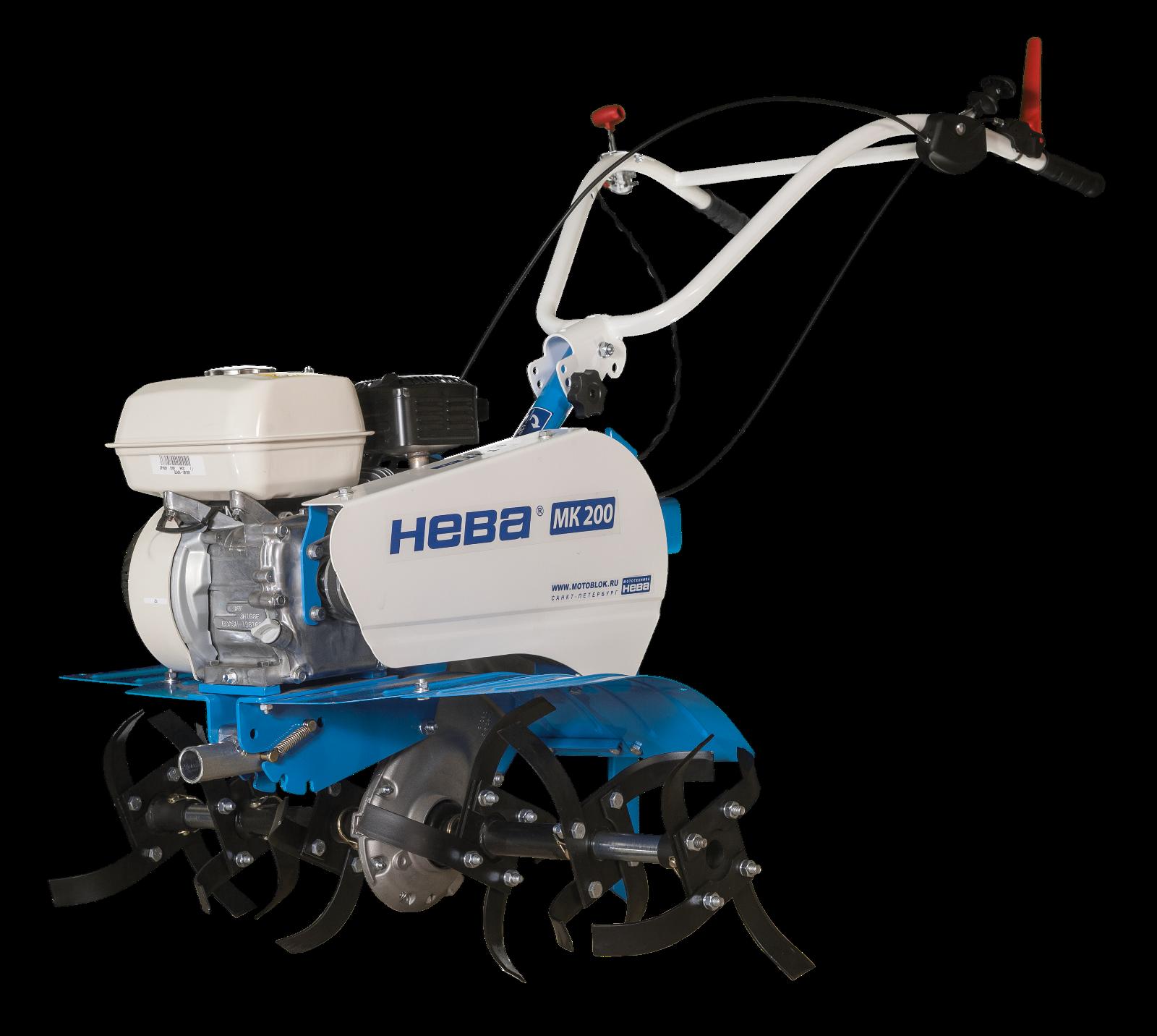 """Gartenfräse, Motorhacke """"NEVA"""" MK-200-H, HONDA GP 160 Motor"""