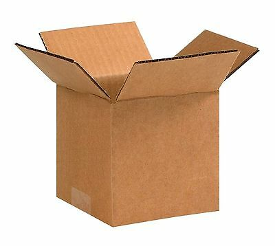 25 Pack 5x5x5 Corrugated Carton Cardboard Packaging Shipping Mailing Box Boxes