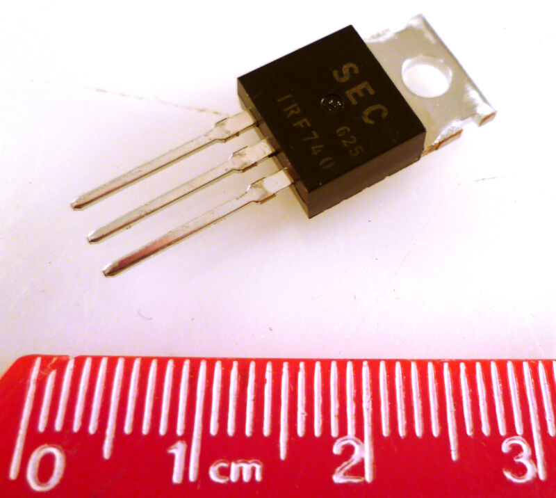 Magnatec IRF740C RS 299-648 N-Channel MOSFET 10A 400V 3-Pin TO-220 MBD019j