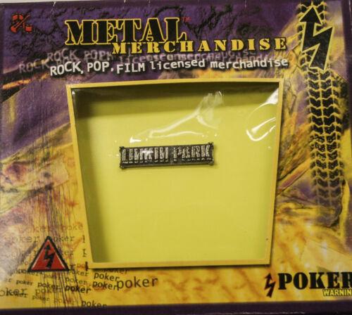 """Poker Rox Linkin Park """"Logo"""" Pin Clasp PC383"""