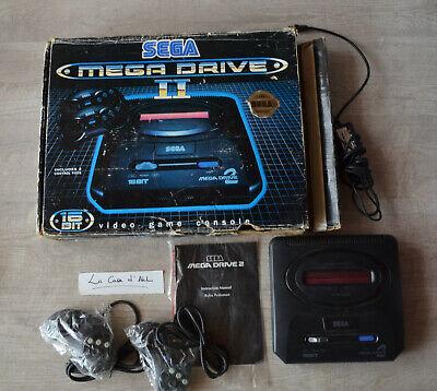 """Console Sega Megadrive 2 - """" Pal Asia """" - complète abimée"""