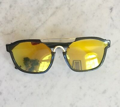 Yellow flat Lens Aviator Sunglasses for sale  Shipping to India