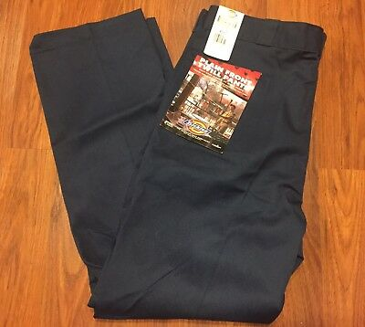 Navy Mens Plain Front Pants - Mens Dickies Navy Blue Plain Front Classic Fit Twill Work Pants NWT 40x32 USA