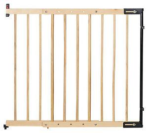 Clamaro, Holz Treppenschutzgitter verstellbar von 65 - 118 cm, universal Treppen