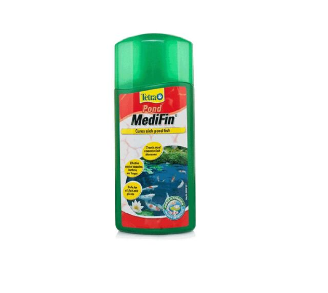 TETRA MEDIFIN GARDEN FISH POND TREATMENT 250ML - Posted Today if Paid Before 1pm