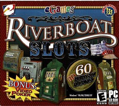 RiverBoat Slots plus Video Slots Bonus Pc Brand New XP