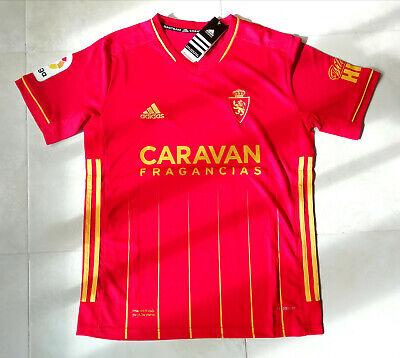 Camiseta Vistante Real Zaragoza 20/21. Talla L.