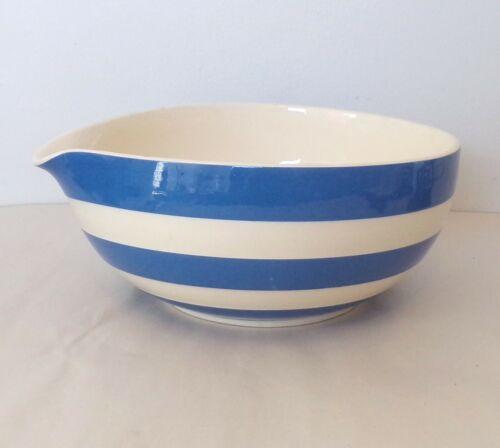 T.G. Green England CORNISH KITCHENWARE Cornishware Blue & White Batter Bowl