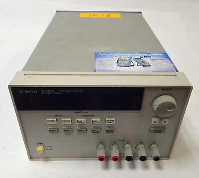 Agilent E3633a Programmable Dc Power Supply 0-8v 20a0-20v 10a 60vdc 115v Parts