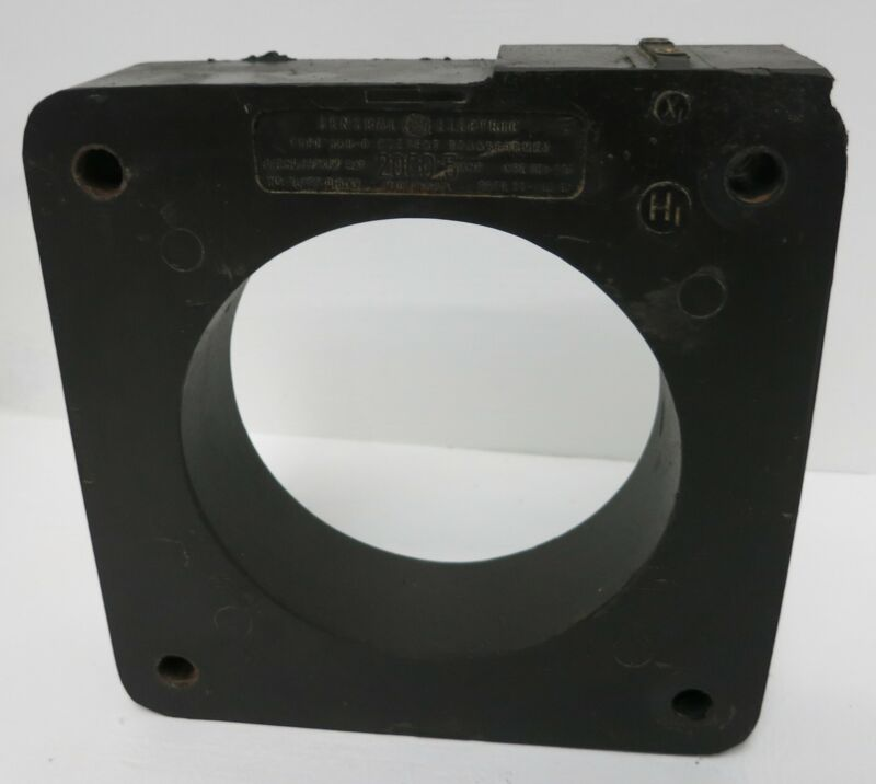 General Electric 837X67 Type JAH-0 CT Current Transformer Ratio 2000:5 Amp GE 5A