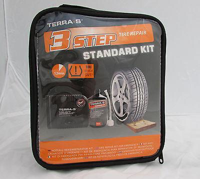 Reifenpannenset Reifendichtmittel Reifenreparatur Kit mit Kompressor Terra-S 700