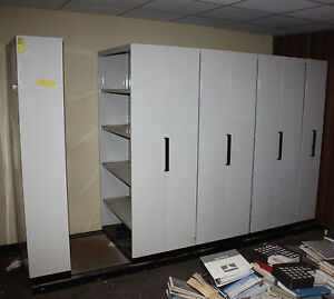 Brownbuilt Adjustable Steel Compactus Shelving System