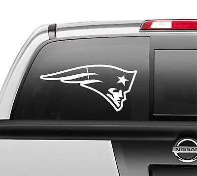 New England Patriots Stickers (New England Patriots Window Sticker Vinyl Decal any size any)