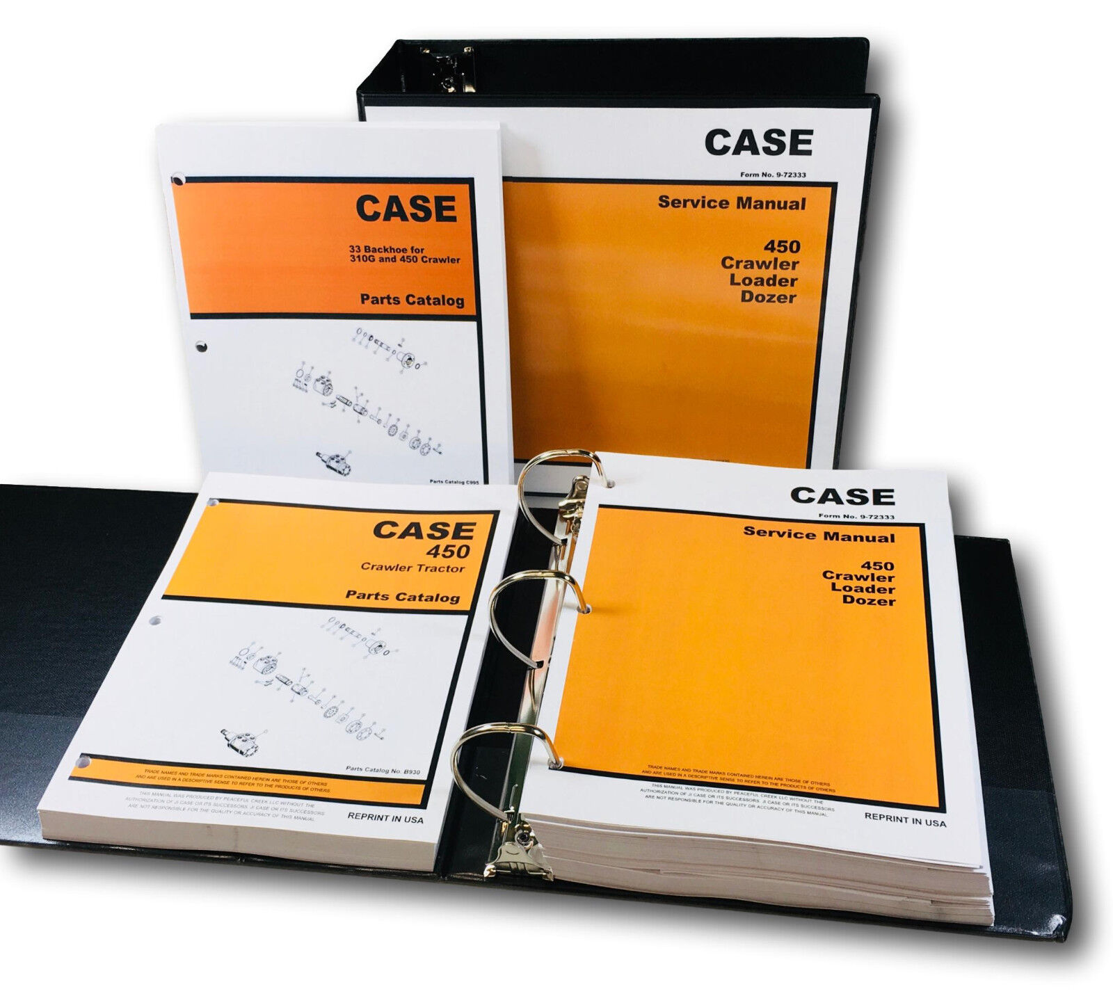 Complete Service/Overhaul/Repair/& Parts Manuals