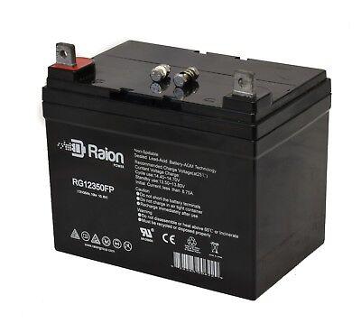 - Raion Power U1 12V 35Ah Yamaha Rhino Utility Vehicle UTV Battery
