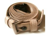 COLONIAL BRITISH ENFIELD P1853 SNYDER P1854 MUSKET RIFLE LEATHER CARRY SLING