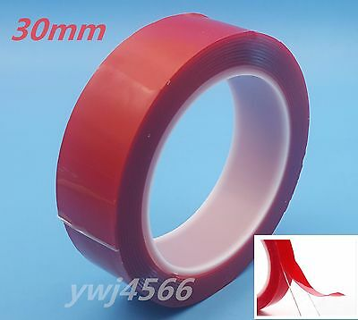 30mm Vhb 4910 Double-sided Clear Transparent Acrylic Foam Adhesive Tape 3m S3